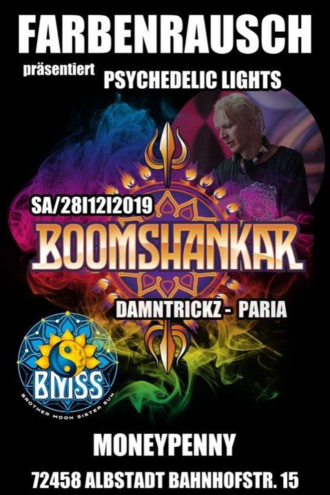 FarbenRausch präsentiert, Psychedelic Lights w/ Boomshankar 28 Dec '19, 22:00