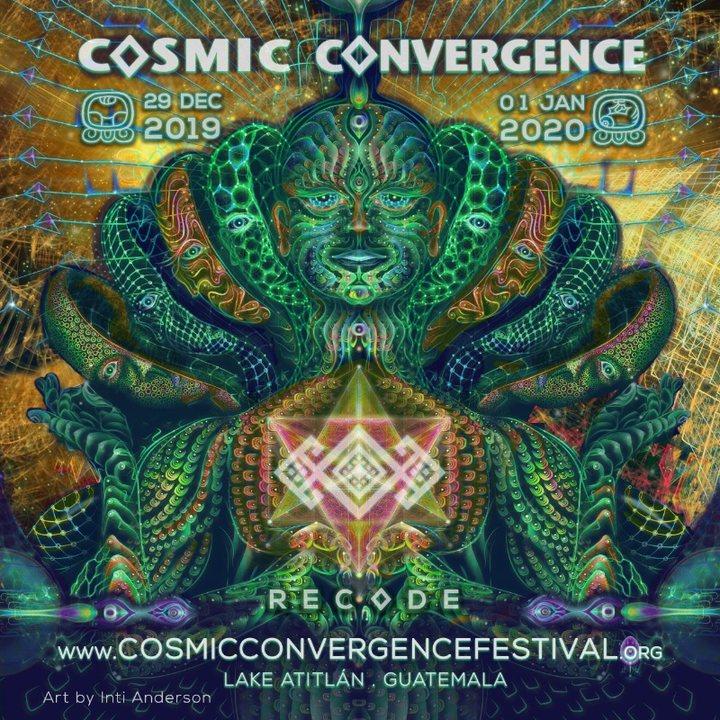 Cosmic Convergence Festival - Recode 29 Dec '19, 12:00