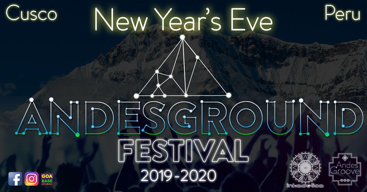 ANDESGROUND - Festival - Open Air 31 Dec '19, 17:00