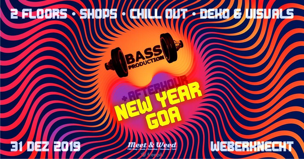 Bassproduction New Year Goa 31 Dec '19, 20:00