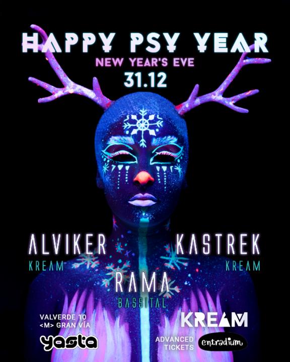 Happy Psy Year by KREAM 31 Dec '19, 23:30