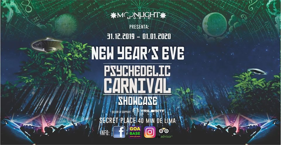 Psychedelic Carnival SHOWCASE - New Year's Eve 31 Dec '19, 16:00