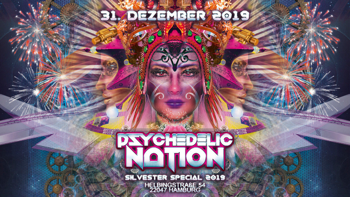 Psychedelic Nation 2019 31 Dec '19, 18:00