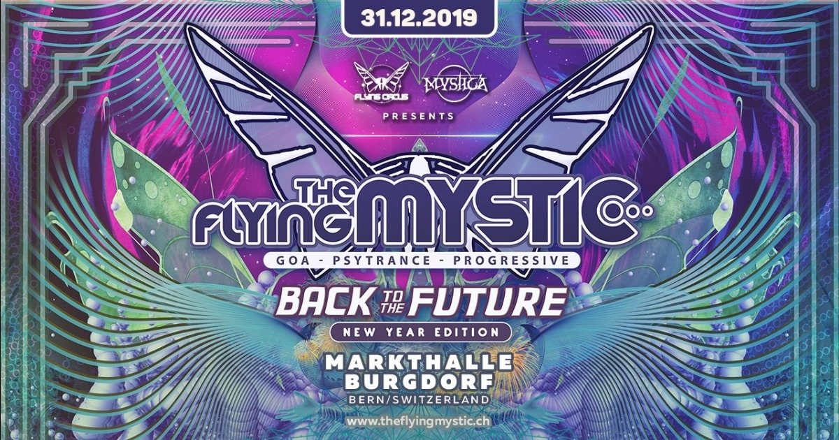 The Flying Mystic - Back to the Future 2019 31 Dec '19, 22:00