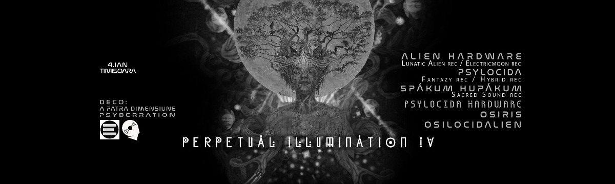 Perpetual Illumination IV ♃ Hi-Tech special edition 4 Jan '20, 23:00