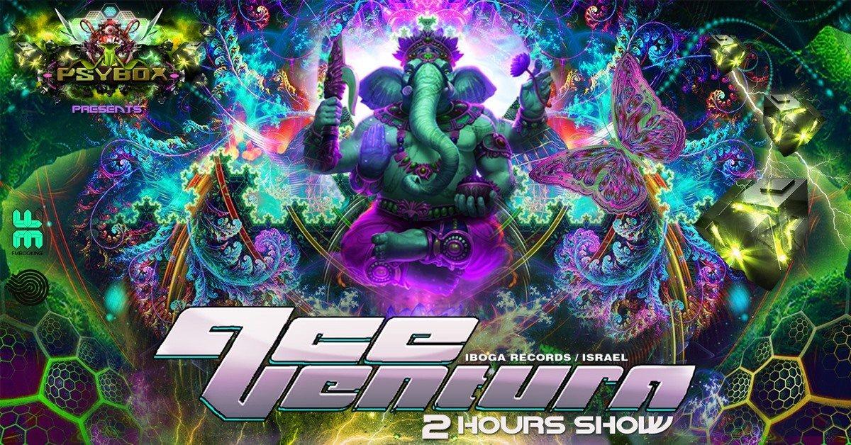 Psybox pres. Ace Ventura - 2 Hours Show 10 Jan '20, 22:00