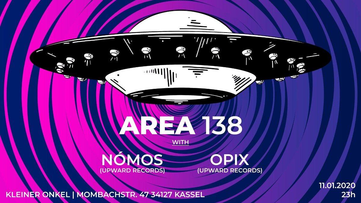 AREA 138 | Finest Progressive Psytrance 11 Jan '20, 23:00