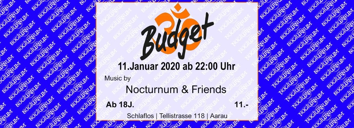 ॐ-Budget 11 Jan '20, 23:00