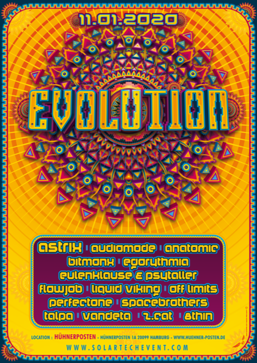 Evolution 2020 11 Jan '20, 22:00