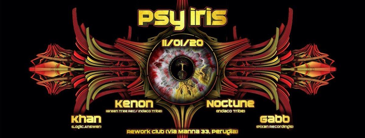 Psy Iris // 2020 11 Jan '20, 22:30