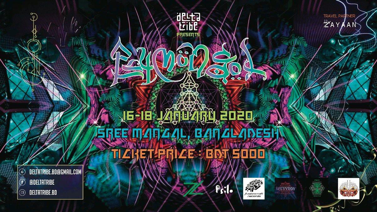 Delta Tribe presents PsyMongol 2020 16 Jan '20, 15:00