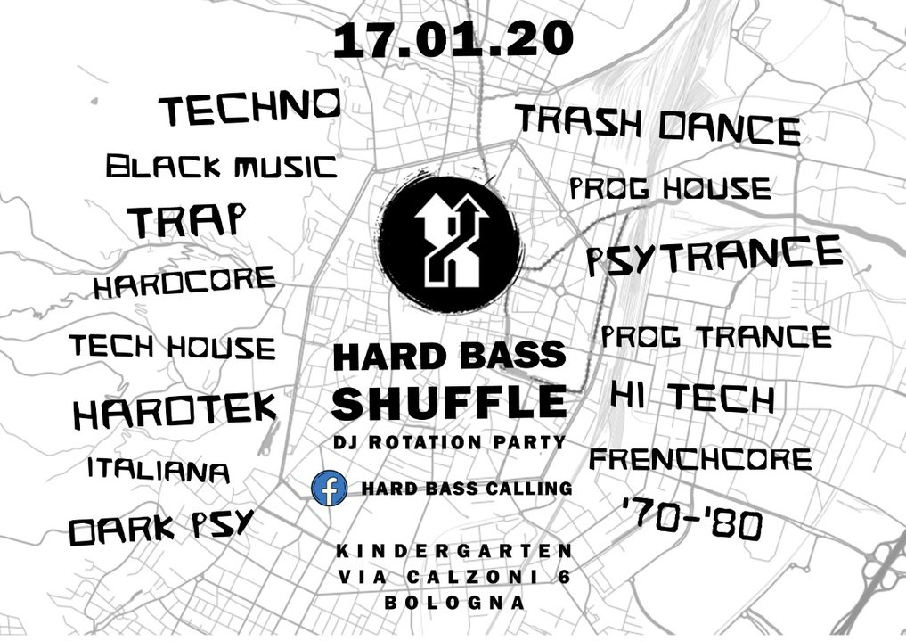 Hard bass Shuffle - Dj Rotation Party 17 Jan '20, 23:00
