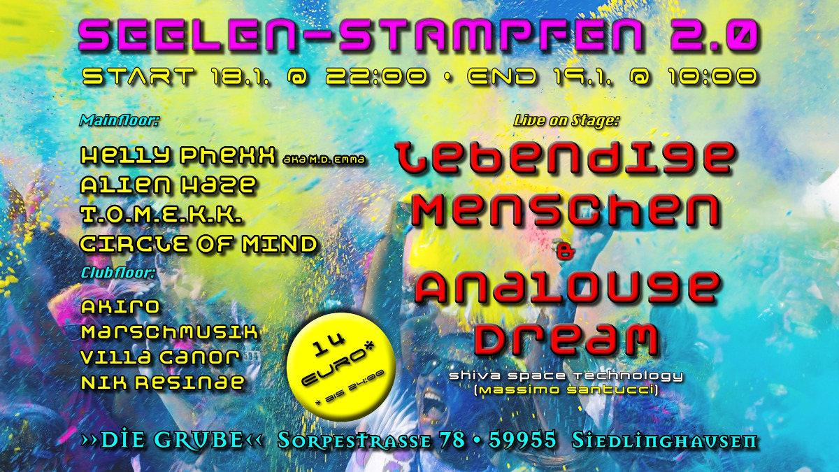 Seelen-Stampfen 2.0 18 Jan '20, 22:00