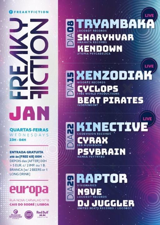 FREAKY FICTION 22 Jan '20, 23:00