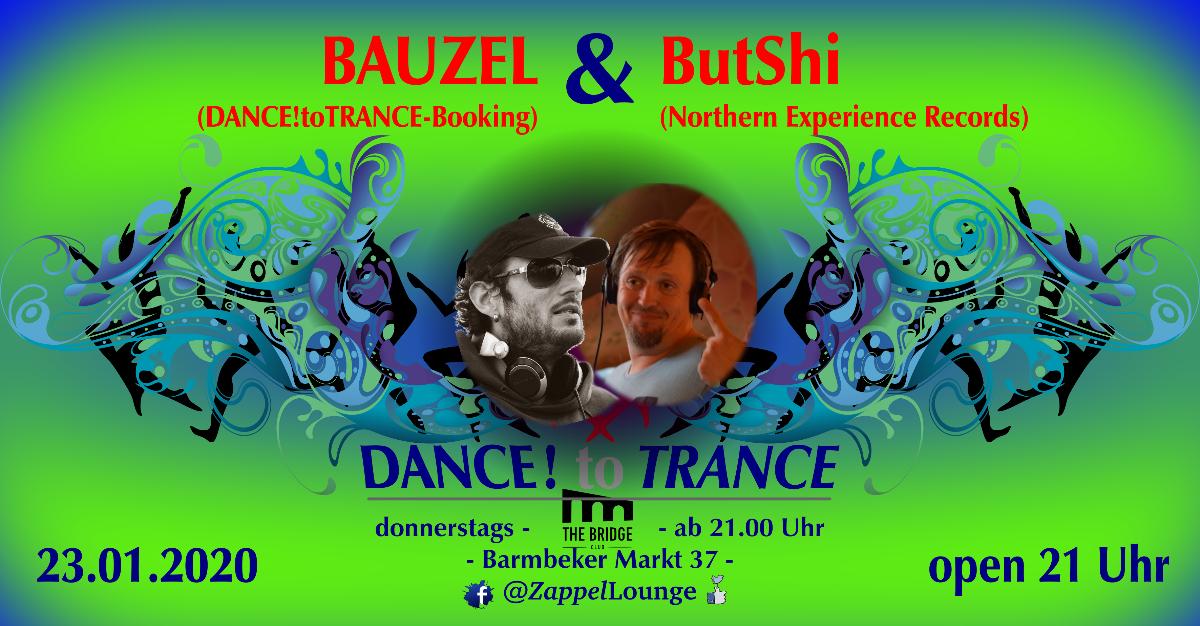 DANCE! to TRANCE 23 Jan '20, 21:00