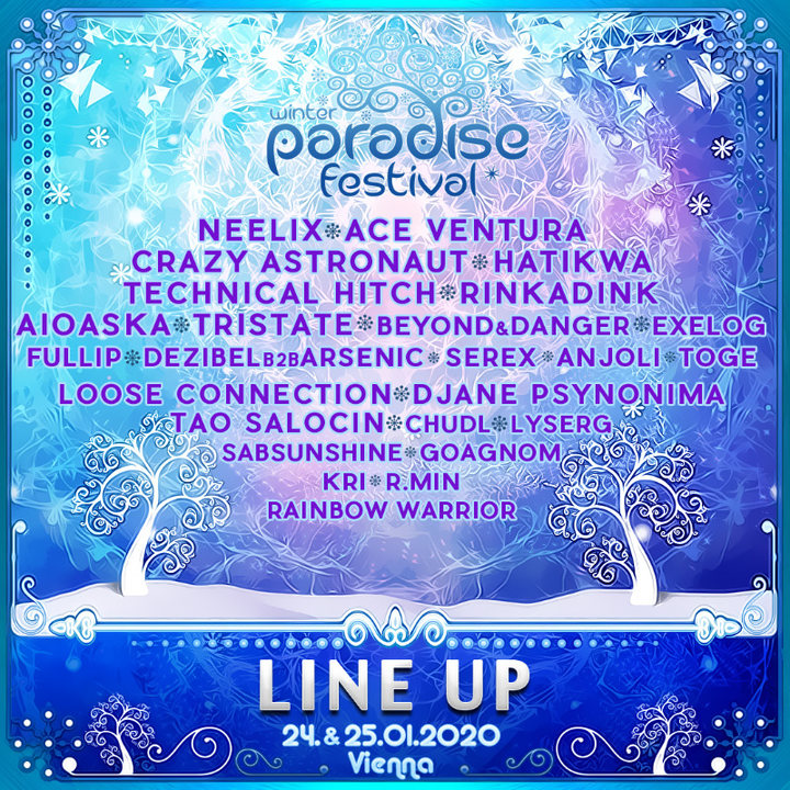 PARADISE WINTER FESTIVAL 2020 24 Jan '20, 21:00