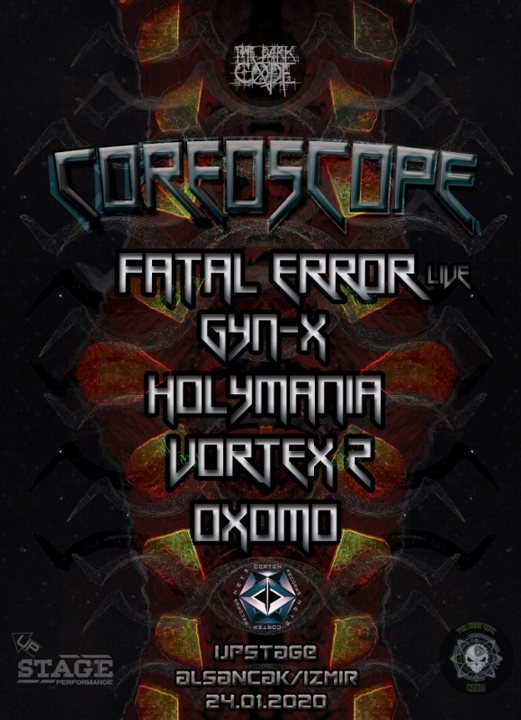 TheDarkCode COREOSCOPE (Izmir) 24 Jan '20, 21:00