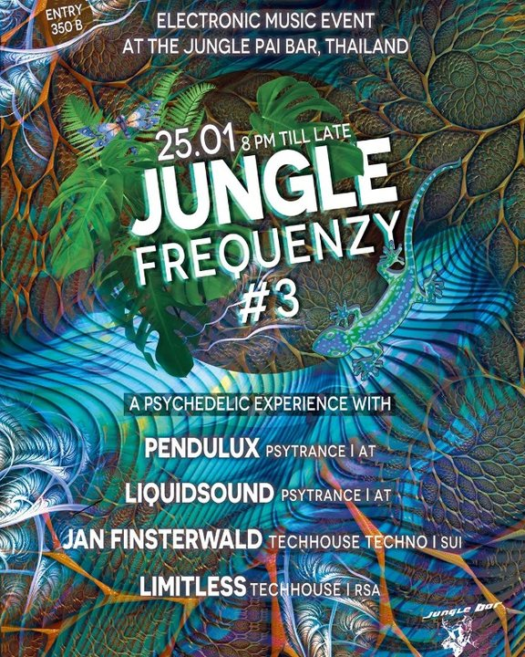 Jungle Frequenzy #3 25 Jan '20, 20:00