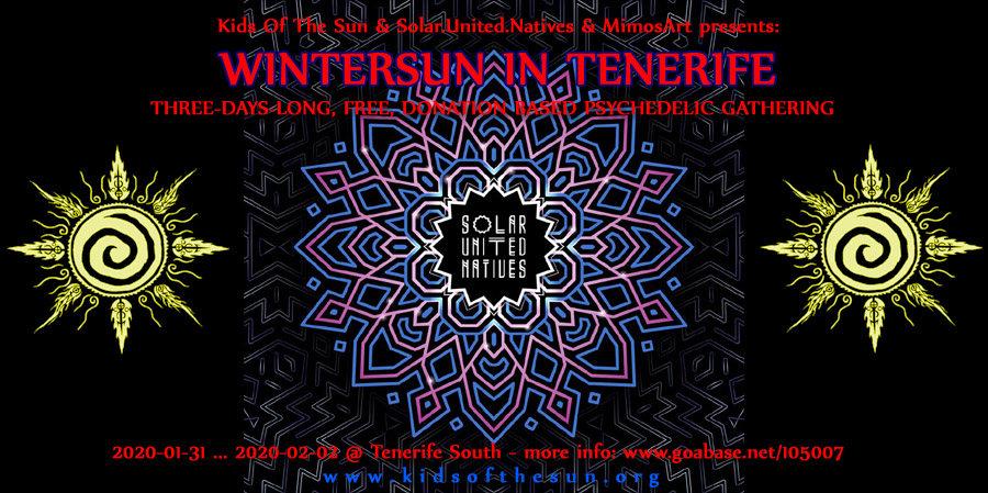 WinterSUN in Tenerife 2020 31 Jan '20, 18:00