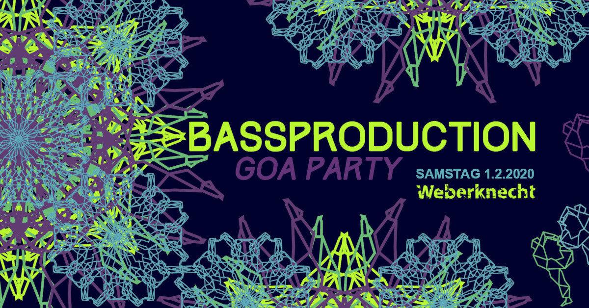 Bassproduction Goa Party 1 Feb '20, 22:00