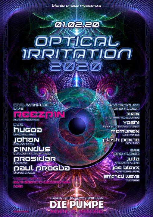 Optical Irritation 2020 1 Feb '20, 23:00