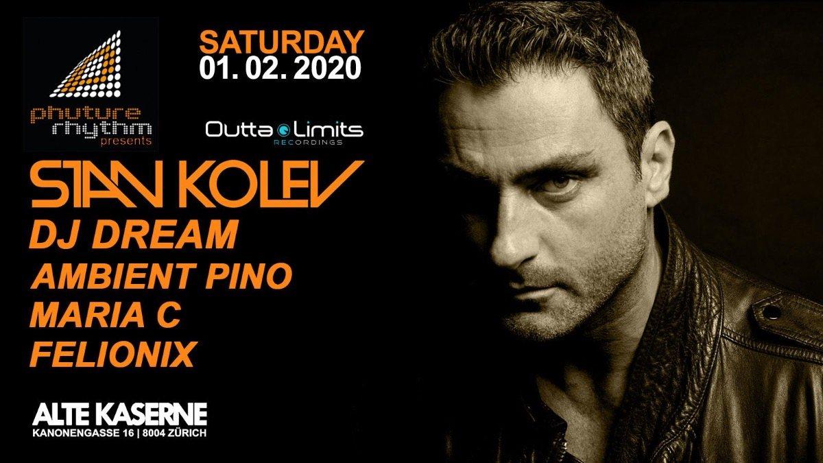 Phuture Rhythm presents: STAN KOLEV 1. Feb 20, 23:00