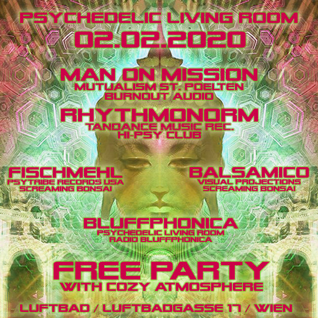 Psychedelic Living Room #5 2 Feb '20, 22:00