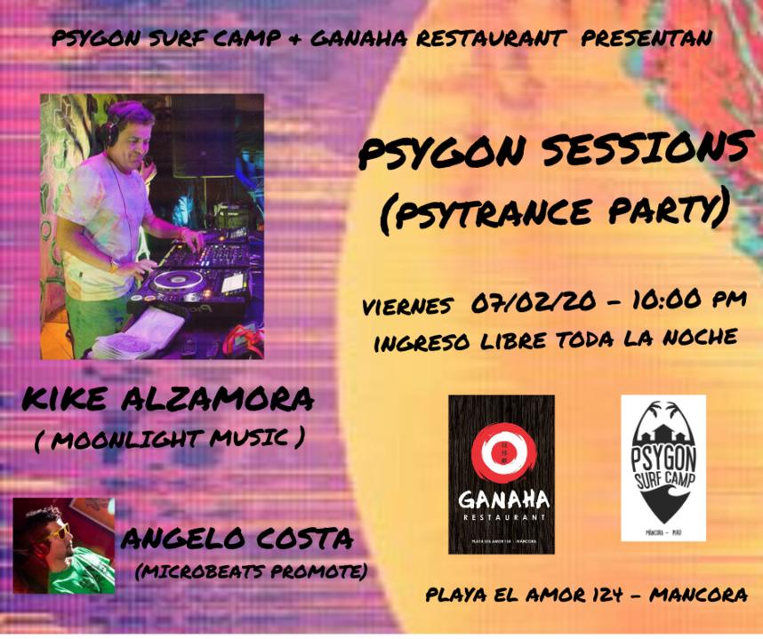 Psygon Sessions 7 Feb '20, 22:00