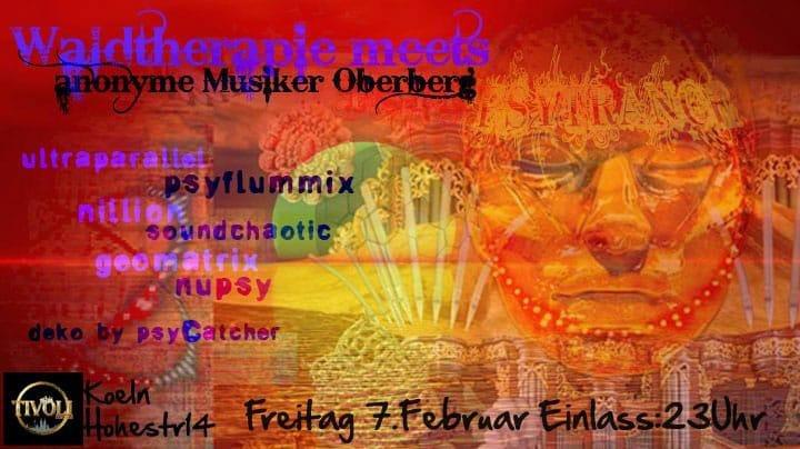 Waldtherapie meets anonyme Musiker oberberg 7 Feb '20, 23:00