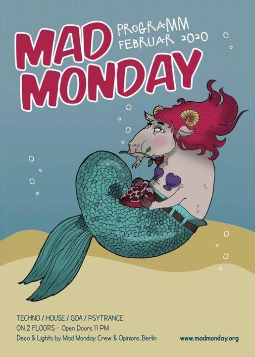 Mad Monday presents Akustik.Akrobaten 17 Feb '20, 23:00