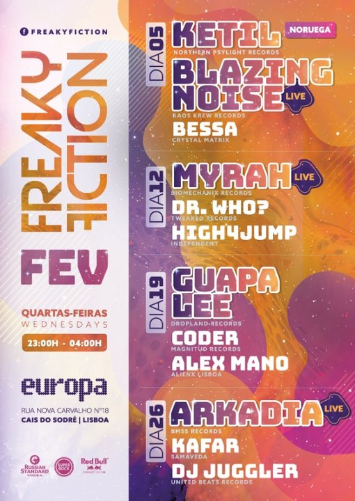 FREAKY FICTION 19 Feb '20, 23:00