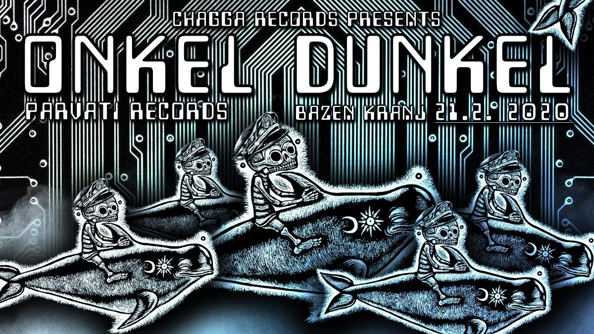 Chagadelia presents: ONKEL DUNKEL [Parvati Records] 21 Feb '20, 23:00