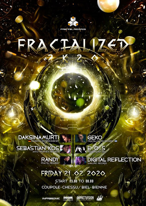 FractaliZed 2k20 21 Feb '20, 23:00