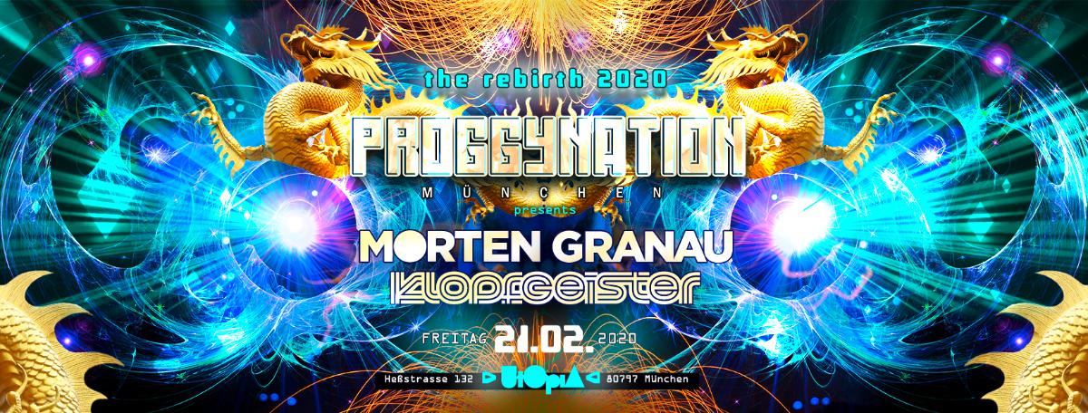 Proggynation München pres. Morten Granau & Klopfgeister and.more! 21 Feb '20, 22:00