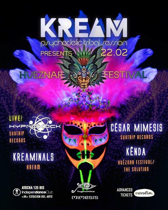 KREAM w/ Hypnoxock (LIVE) - Hueznar Festival Teaser 22 Feb '20, 23:30