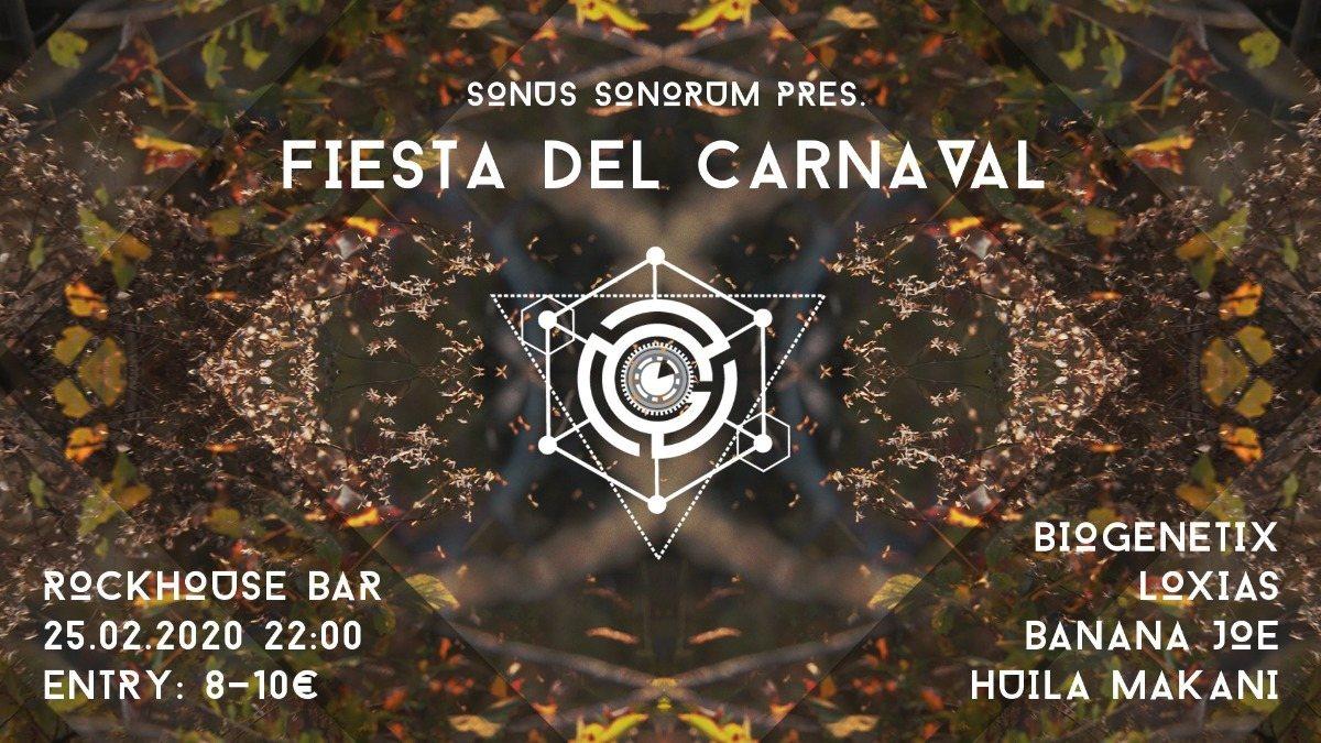 Sonus Sonorum pres. Fiesta Del Carnaval 25 Feb '20, 22:00