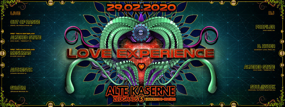 **LOVE EXPERIENCE Special Edition** 29 Feb '20, 22:30