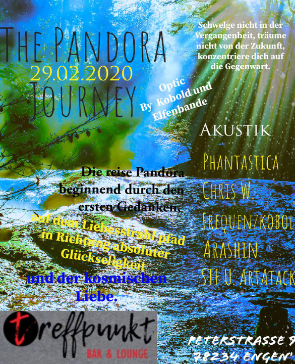 The Pandora 29 Feb '20, 21:00