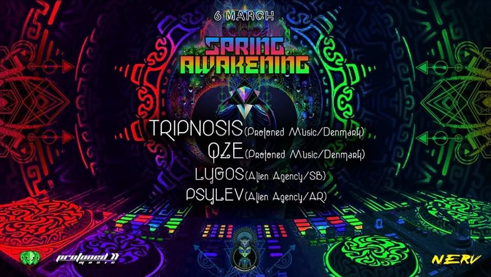 AlienAgency presents: Spring Awakening 6 Mar '20, 23:00