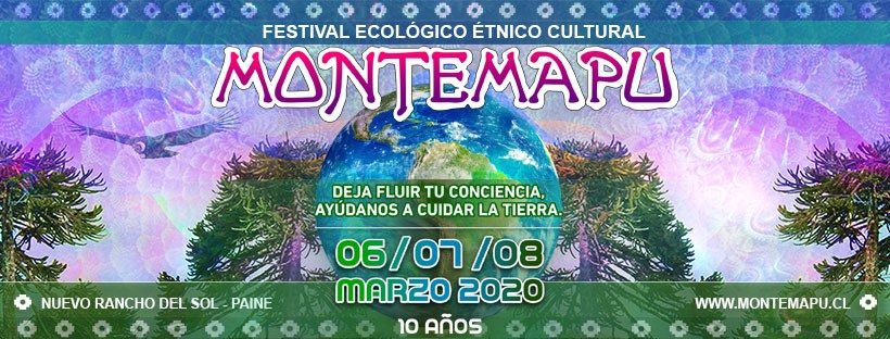 MonteMapu Festival 2020 6 Mar '20, 12:00