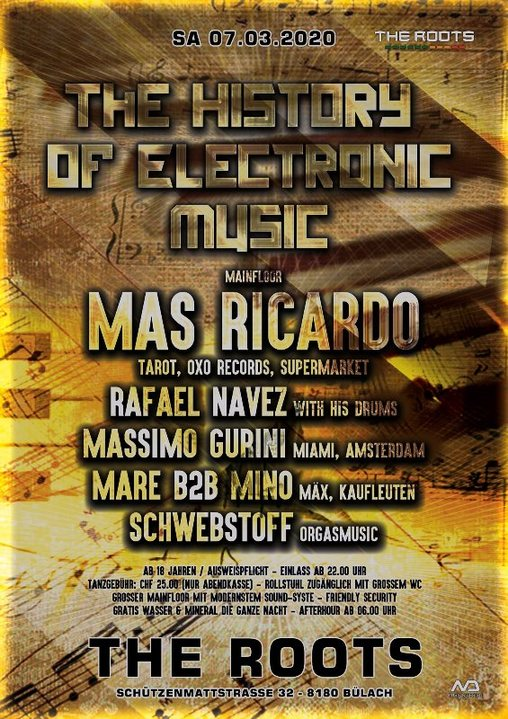 The History of Electronic Music 7 Mar '20, 22:00