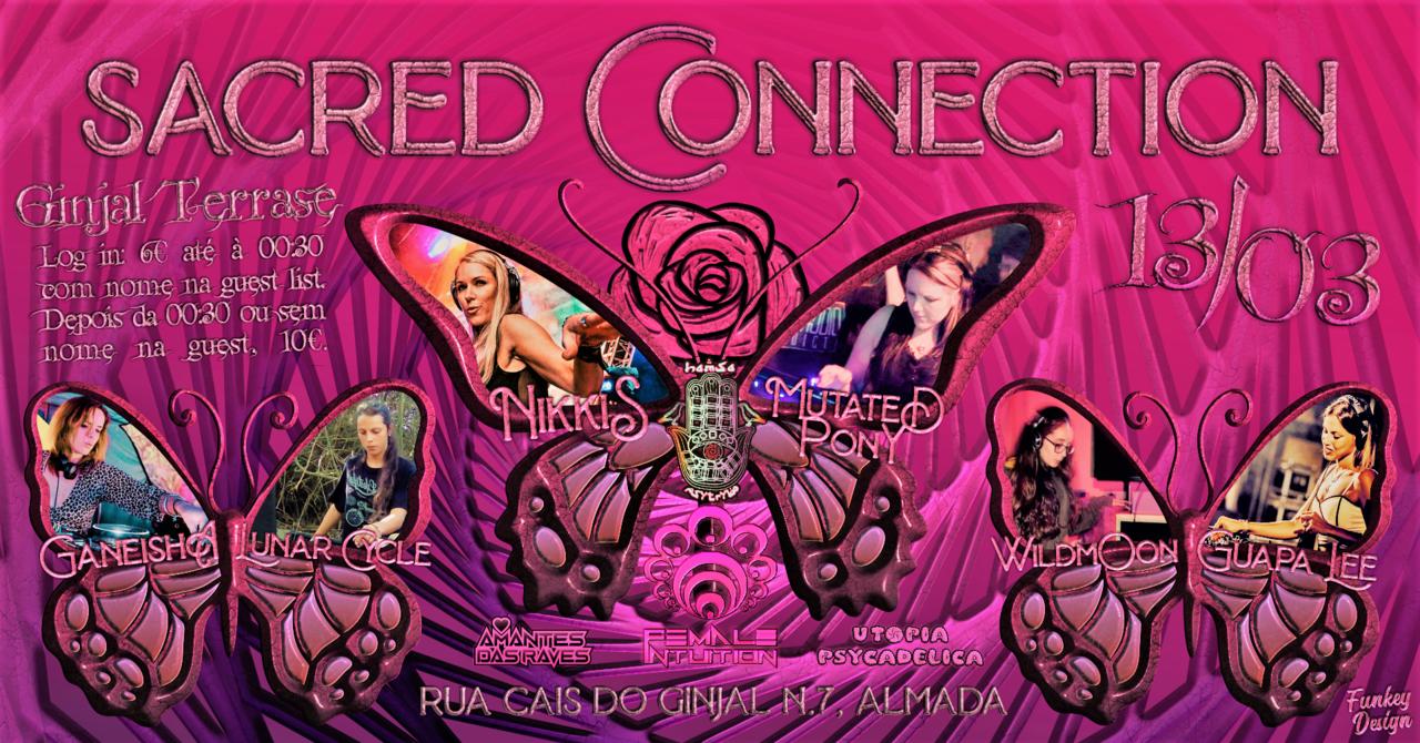 Hamsá PsyTrybo & Female Intuiton // Sacred Connection 13 Mar '20, 23:00
