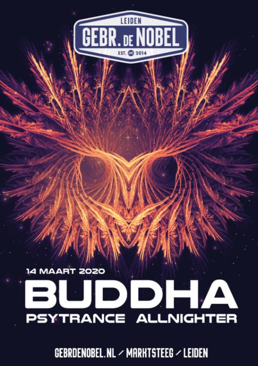 Buddha #3 - Psytrance Allnighter | Gebr. De Nobel 15 May '20, 23:00