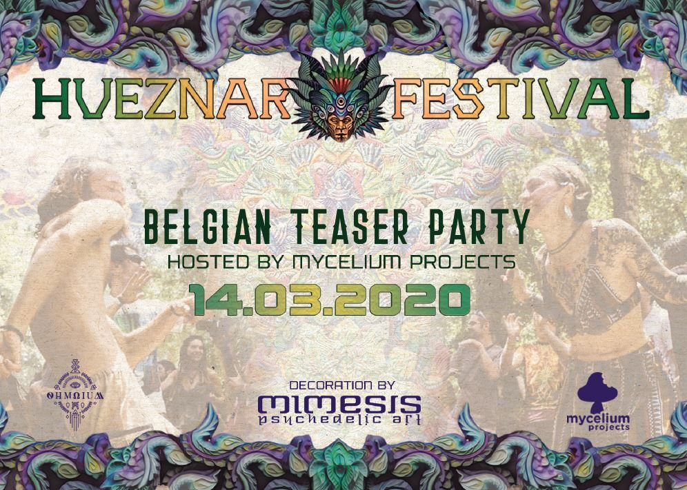 Hueznar Festival - Belgian Teaser Party 14 Mar '20, 21:00