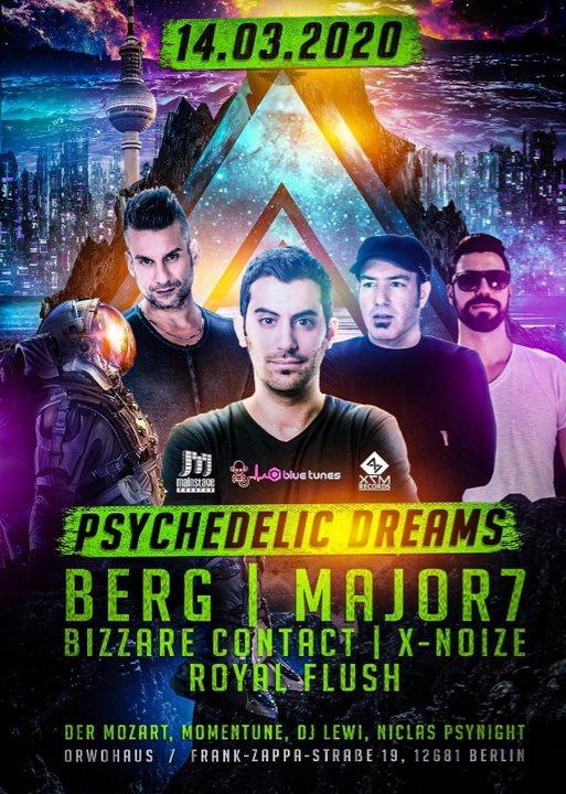 Psychedelic Dreams 14 Mar '20, 23:00