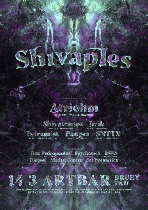 Shivaples 2020 - psychedelic rave ball 14 Mar '20, 21:00