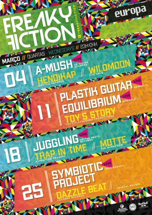 FREAKY FICTION 18 Mar '20, 23:00