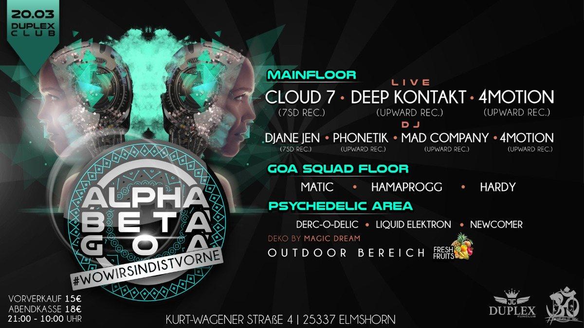 Alpha Beta Goa / #WoWirSindIstVorne 20 Mar '20, 21:00