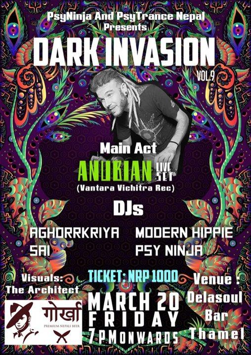 Dark invasion vol 9 20 Mar '20, 18:00
