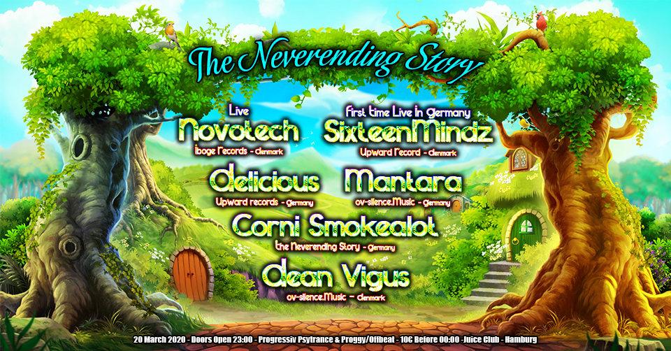 TNS: Novotech Live & SixteenMindz 1st Time Live in Germany 20 Mar '20, 23:00